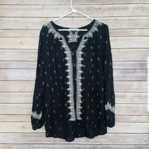 Lucky Brand Blouse Large